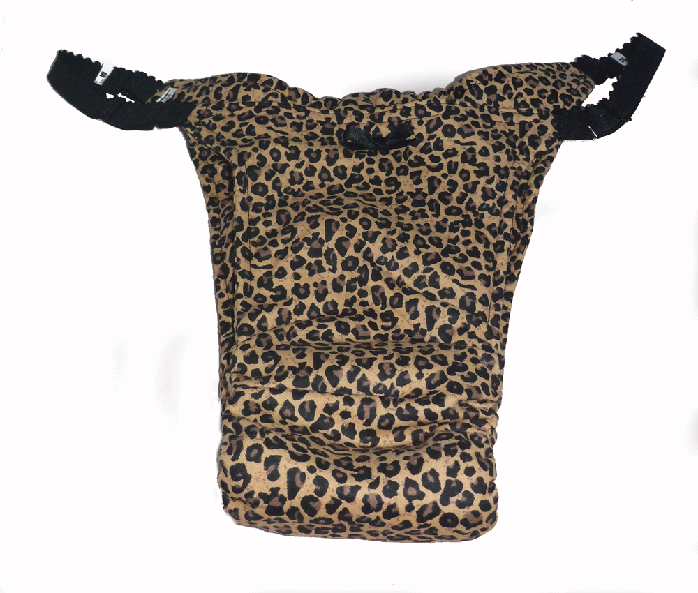 Night  Leopard -Flannelette