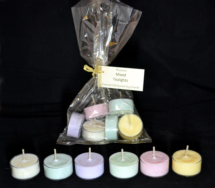 Candle :-  Soy Tea Lights Scented
