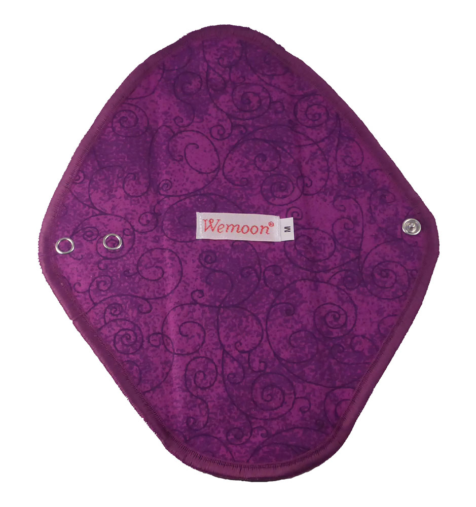 Slim Purple Swirl - flannelette