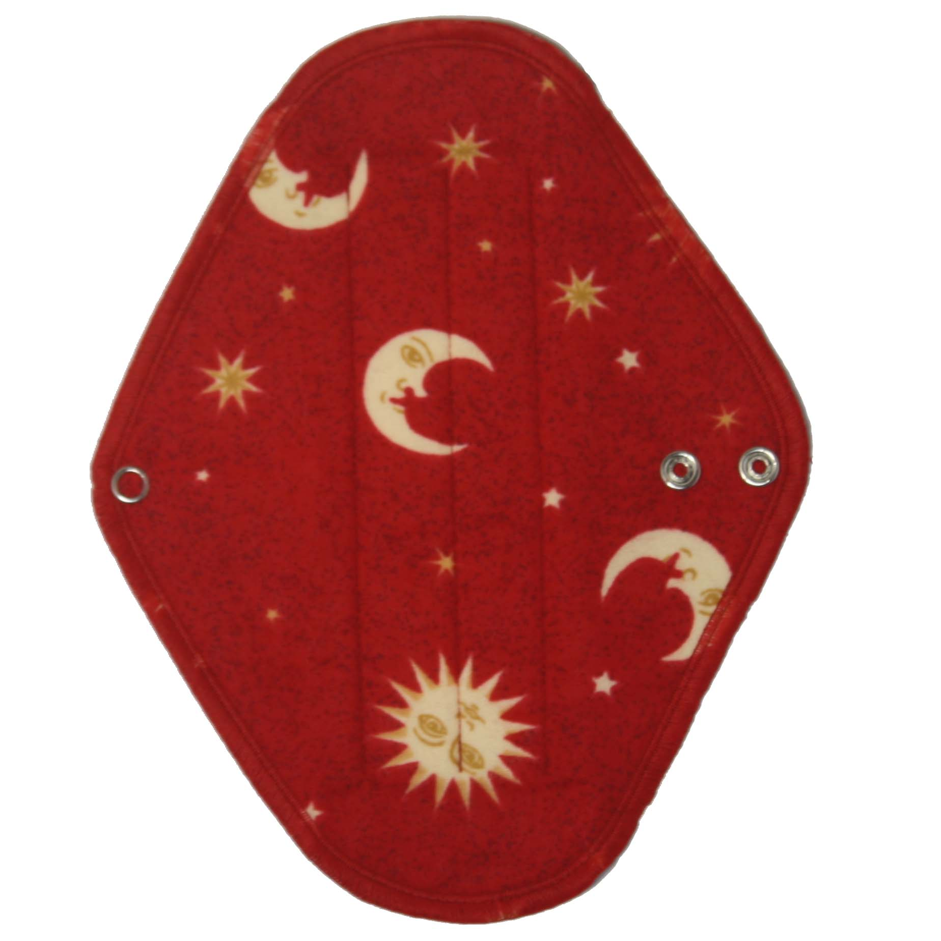 Slim Red Moon - flannelette