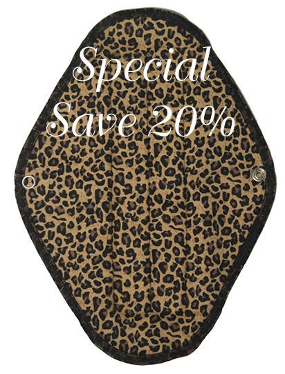 Maxi Leopard - flannelette
