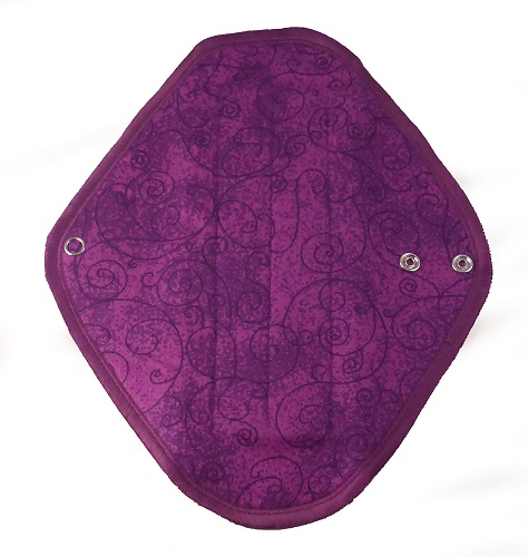 Slim Purple Swirl - flannelette